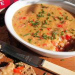 Vegetarian Red Pepper, Lentil and Cheese Pâté (Spread) Recipe