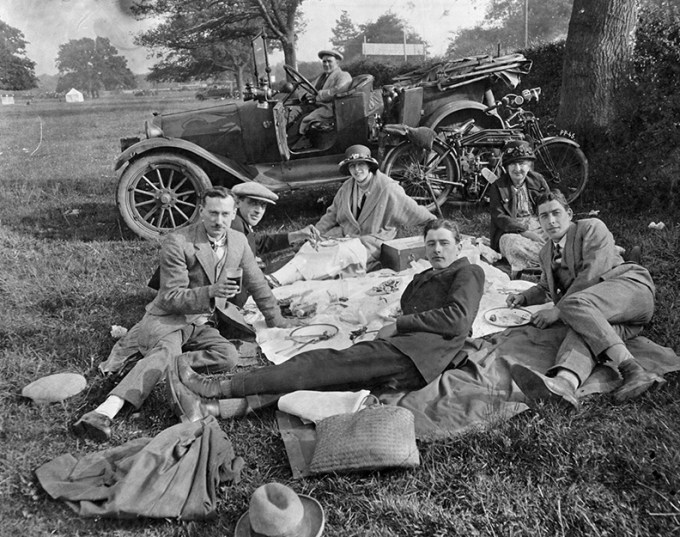 Picnic Party by Vintage Norwich