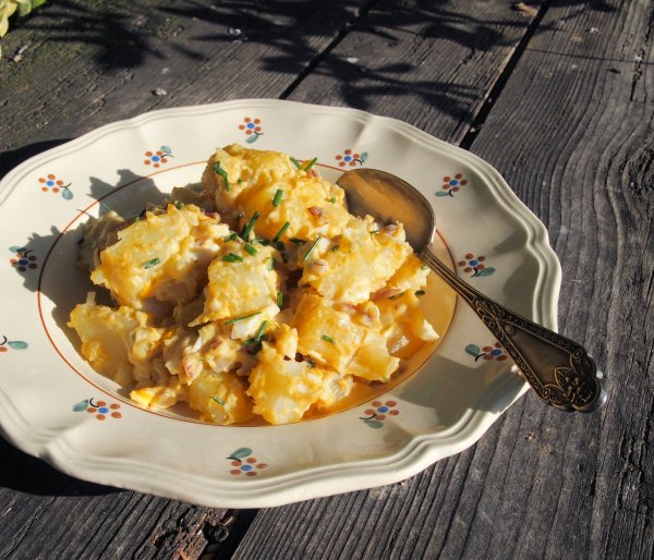 Organic September ~ My Family Recipe for Rustic Style Potato Salad