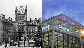 St Pancras old and new