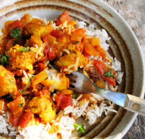 Easy Low-Fat Monkfish Curry
