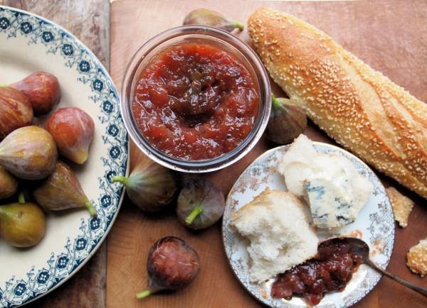 Apple, Fig and Pear Chutney with Cardamom