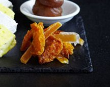 Candied Nectarine Petit Fours