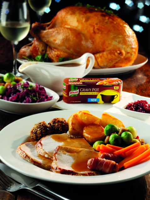 Knorr Seasonal Turkey Christmas Dinner Box