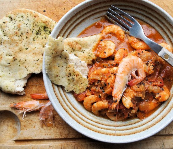 Tiger Prawn Curry with Basmati Rice: The Fast Diet - 5:2