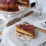 Scheherazade, Tea Time Treats and a Cardamom Rose Cake with Orange Drizzle Recipe