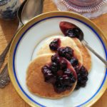 5:2 Diet Fast Day: Pancakes for Breakfast - Blueberry & Oat Pancakes with Cinnamon Recipe