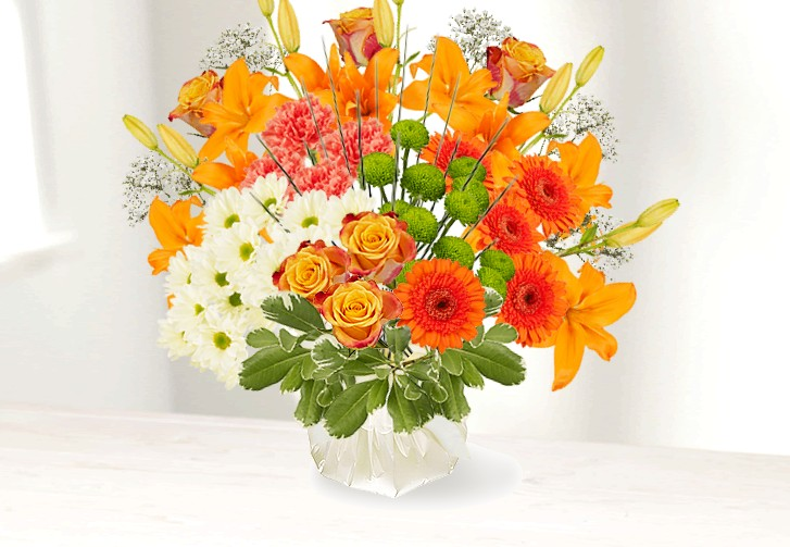 A Floral Fantasy Design And Deliver Your Own Floral Bouquet On Line