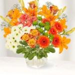 On-Line! Interflora Virtual Flower Arranging
