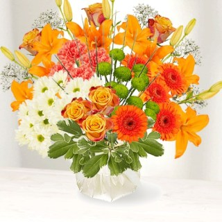 On-Line! Interflora Virtual Flower Arranging