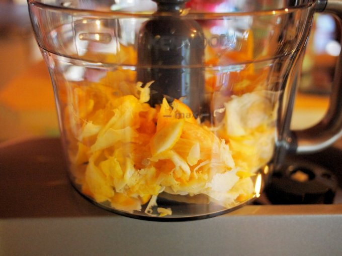 Making Three Fruit Marmalade