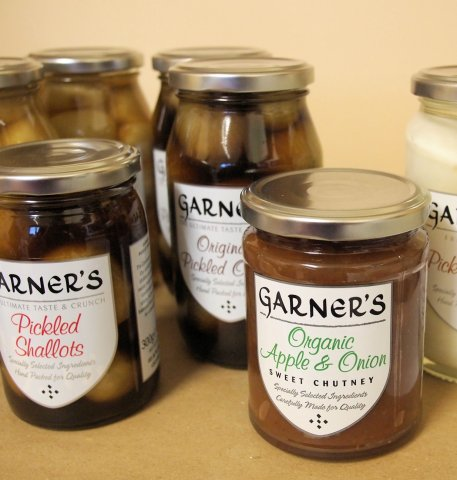 Garners Pickled Onions and Shallots