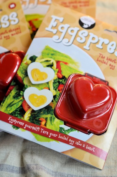 Eggspress heart shaped boiled egg mould