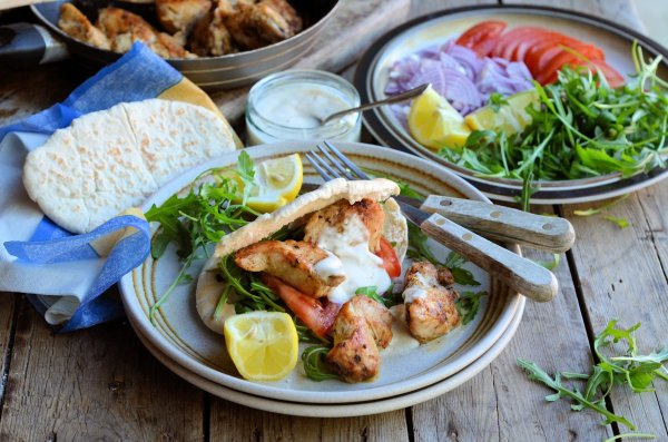 5 2 Diet 215 Calorie Kebabs Cajun Chicken Kebab And Spiced Yoghurt Dip Recipe