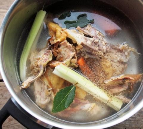 Home-Made Chicken Stock Recipe
