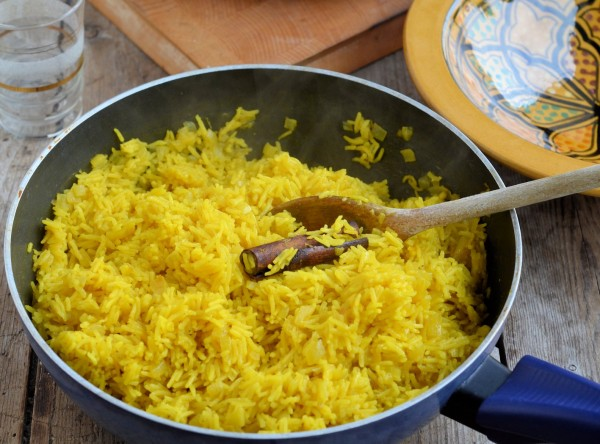 Aromatic Saffron Rice