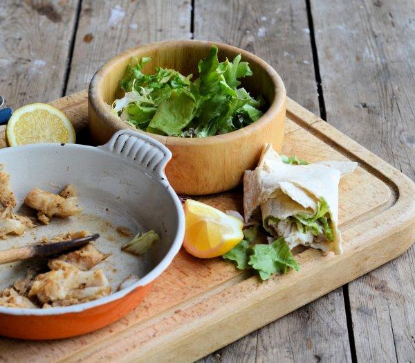 Healthy Happy Hearts: Low-Calorie Spicy Mexican Fish Wraps Recipe