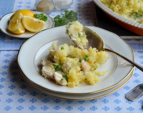 Fish Pie with Cheese
