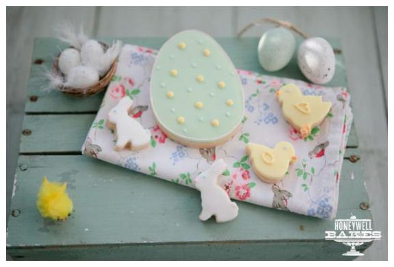 Spring Fling Giveaway: Win 2-Layer Gift Set of Biscuits from Honeywell Bakes