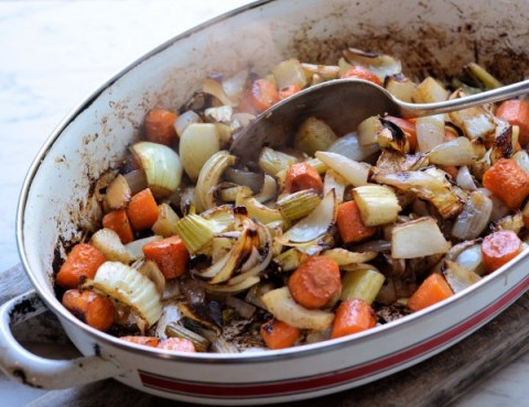 Roasted Moroccan Vegetables