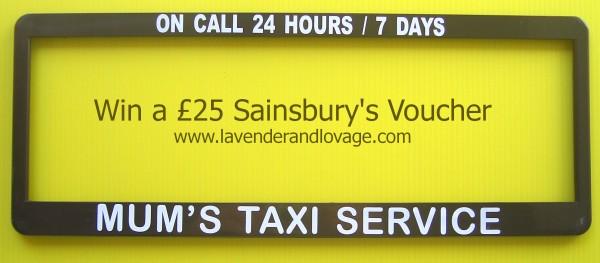 Giveaway: Win a £25 Sainsbury's Voucher!