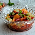 Strawberry and Mint Fruit Salad