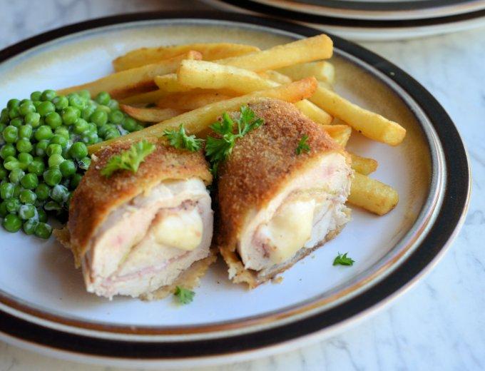 Chicken Cordon Bleu (Sous Vide)