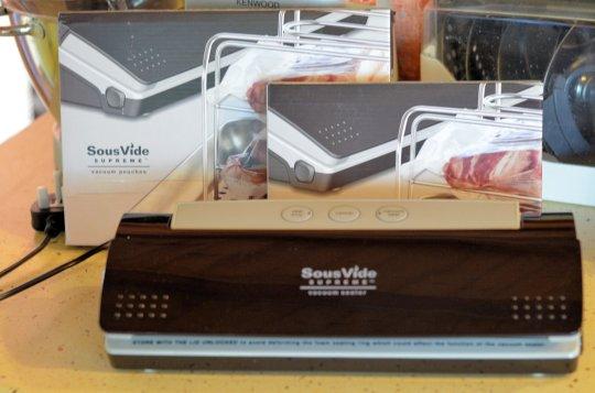 SousVide Supreme Seal and Vacuum Machine