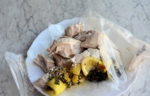 Lemon Thyme Chicken Kebabs