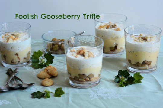 Foolish Gooseberry Trifle
