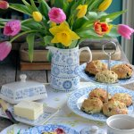 An Afternoon Tea with Scones and Win 12 pieces of Penzance Dinnerware with Churchill!