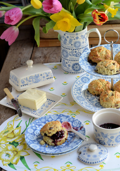 An Afternoon Tea with Buttermilk Scones: Win 12 pieces of Penzance Dinnerware with Churchill!