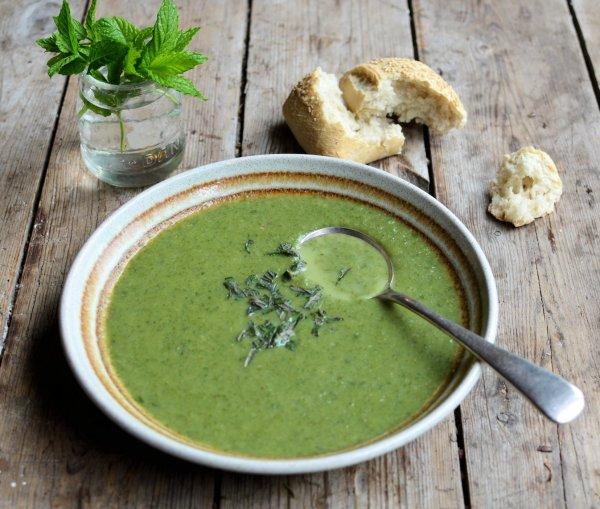 "Green Goddess ""50 Calorie"" Soup"
