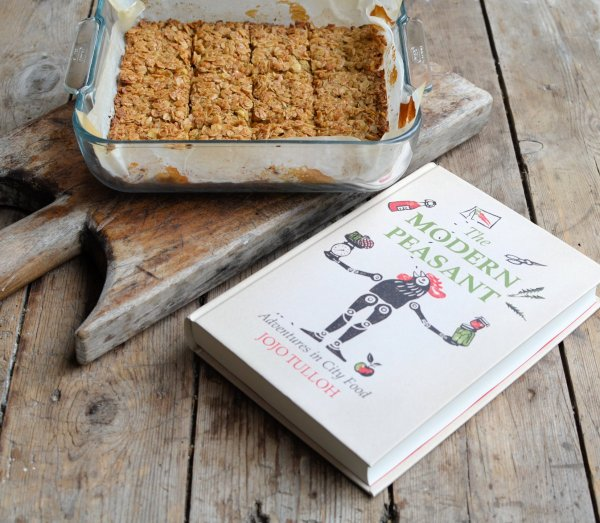Honey Flapjacks with The Modern Peasant - Adventures in City Food (Book Review)