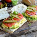 Bastille Day, Picnics and Fireworks: Vegetarian Stuffed Picnic Sandwich Recipe