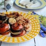 Chilli Peppered Chicken Steaks & Mediterranean Goat's Cheese Vegetable Stacks 7