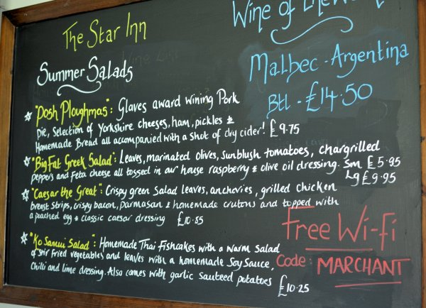 Yorkshire Day, A Country Pub Restaurant Review and Sunday Lunch with Yorkshire Pudding!