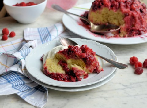 Your Sunday Best! A Fabulous Steamed Raspberry & Whisky Sponge Pudding Recipe