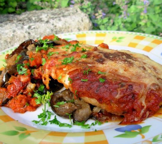 The Secret Recipe Club:Chicken Parmesan