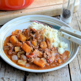 Low-Calorie Comfort Food: Harvest Festival Minced Beef & Vegetable Casserole (5:2 Diet)