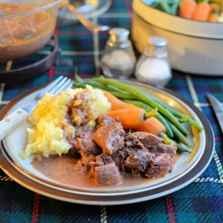Scottish Meat and Tatties for an Autumn Supper