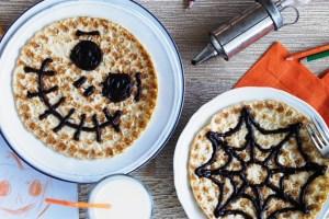Abra-ca-Debora Chocolate Cobweb Pancakes