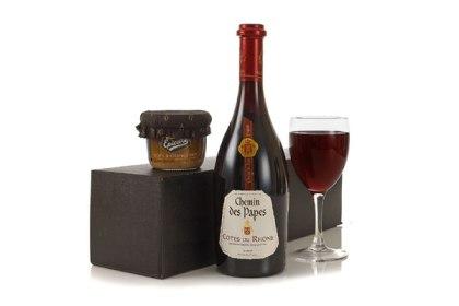 Wine and pate hamper