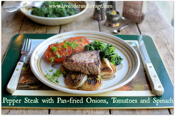 5:2 Diet Steak recipe