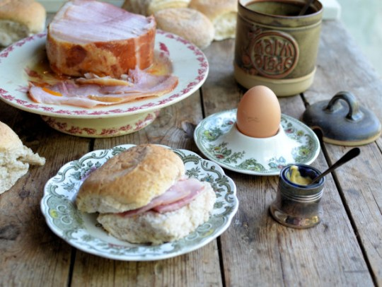 Ham and Eggs for Tea