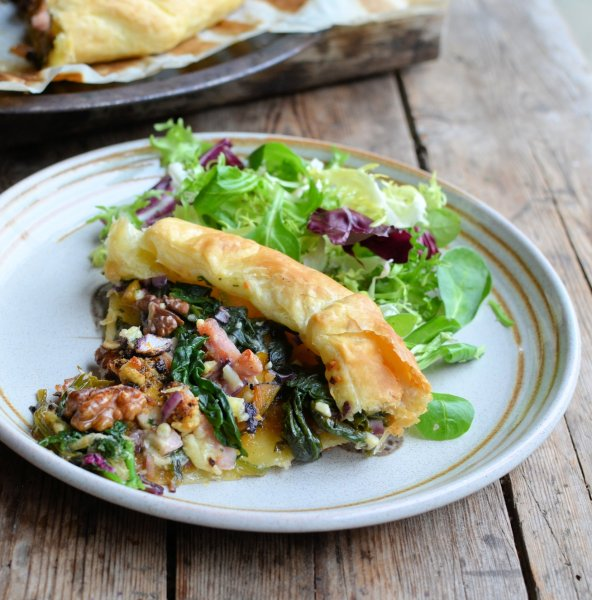 Pumpkin and Kale Galette