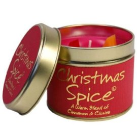 Lily Flame Christmas Spice Scented Candle