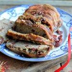 Christmas Sausage, Sage and Bacon Stuffing Loaf