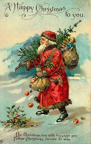 Father Christmas Happy Christmas