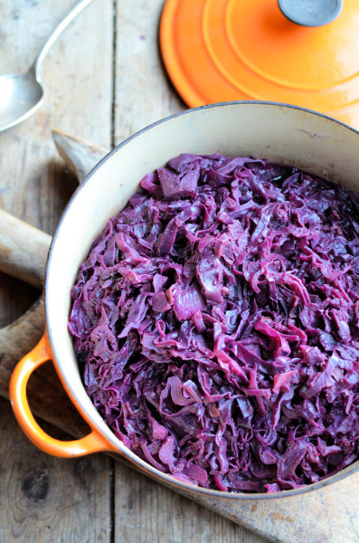 Spiced Red Cabbage with Apples